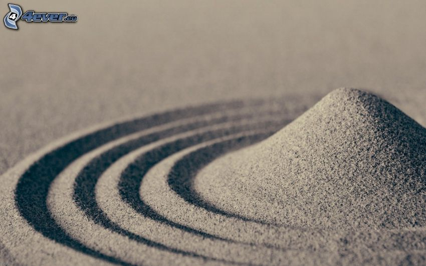 Sand, Kreisen