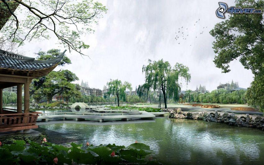 See, Chinesisches Haus