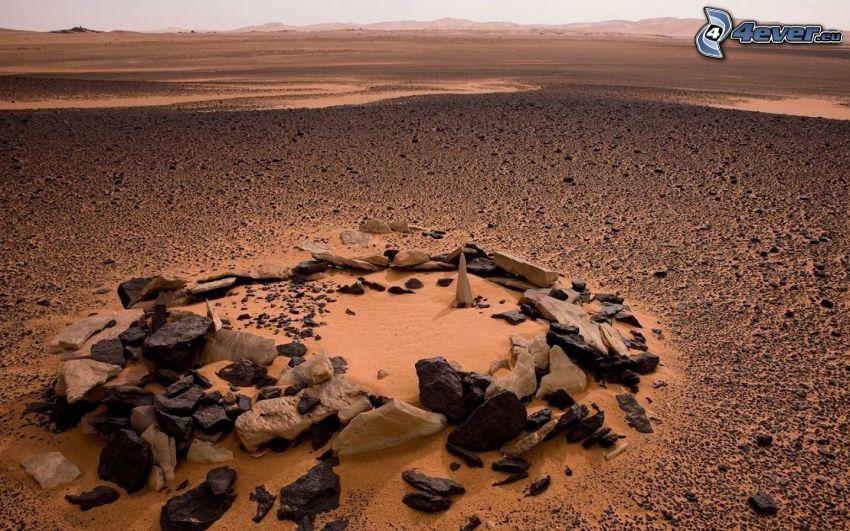 Steine, Wüste