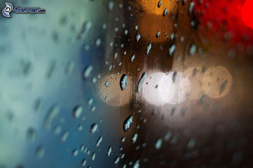 Tropfen des Regens