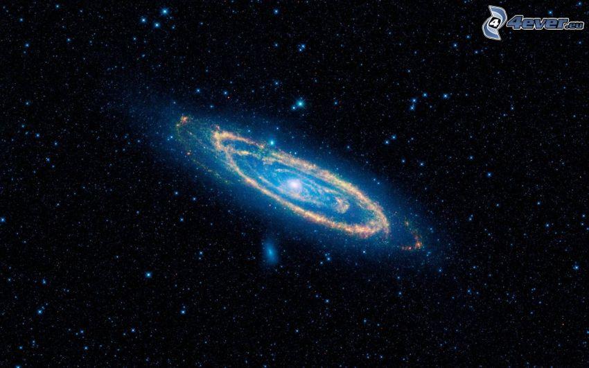 Andromeda, NGC 224, Galaxie, Sterne