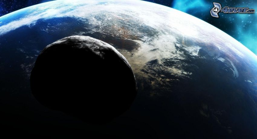 Asteroid, Planet Erde