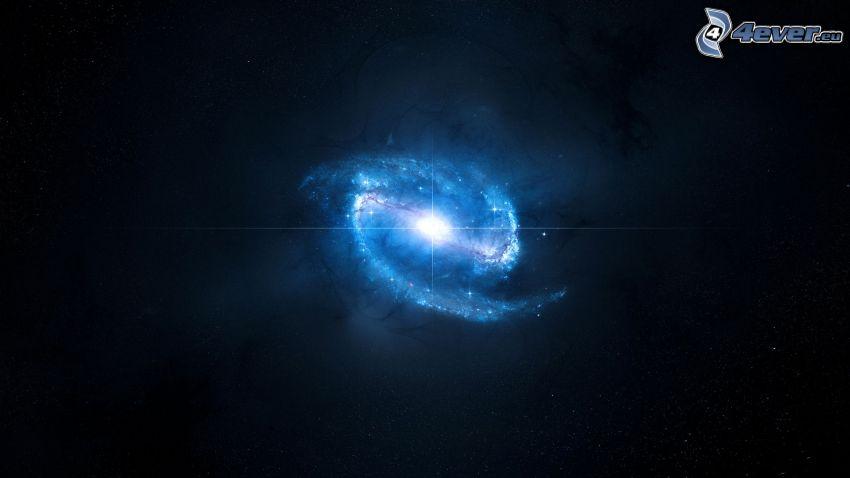 Balkenspiralgalaxie
