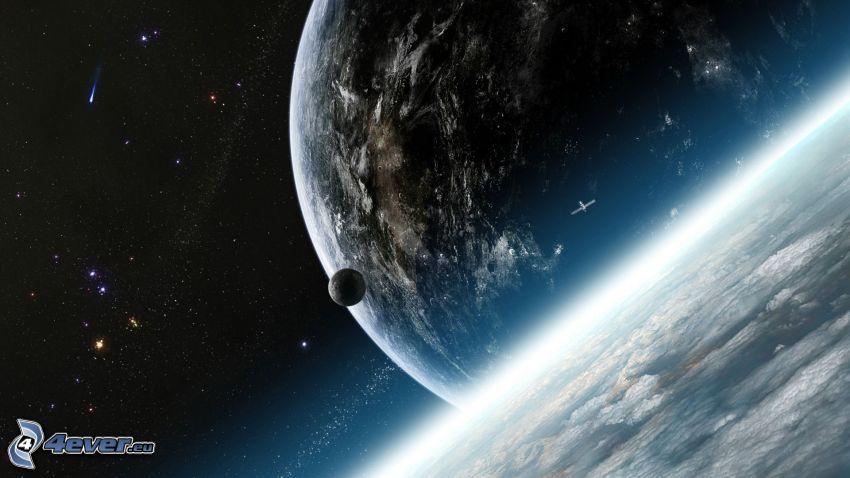 Erde, Planeten, Sterne