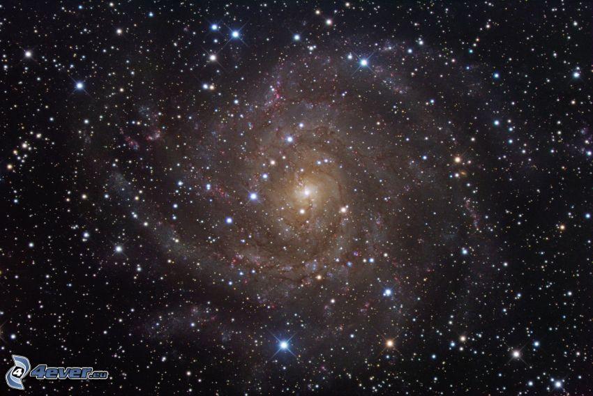 Galaxie, Sterne