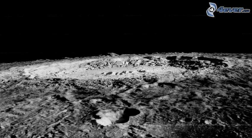 Krater, Mond