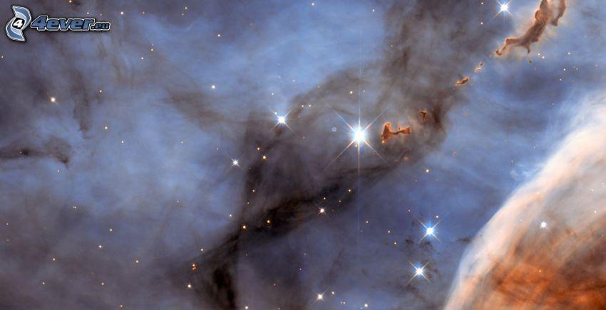 Nebel, Sterne
