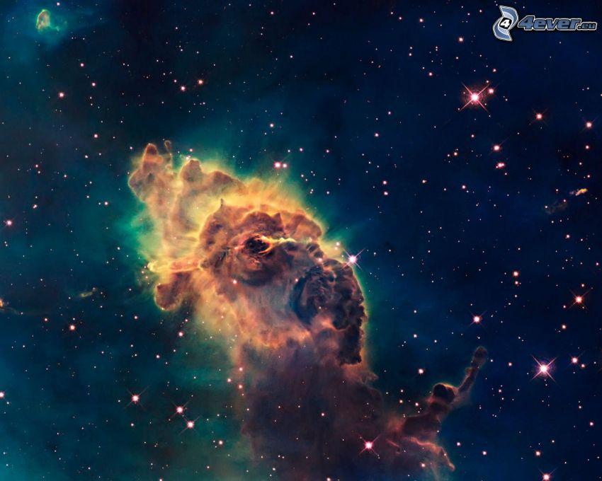 Nebelfleck, Sterne