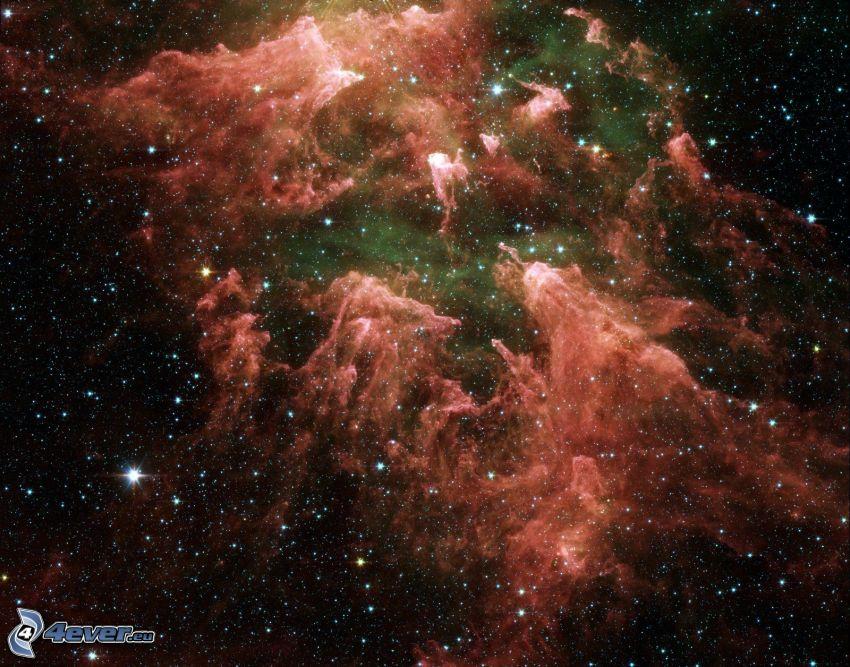 Nebelfleck, Universum, Sterne