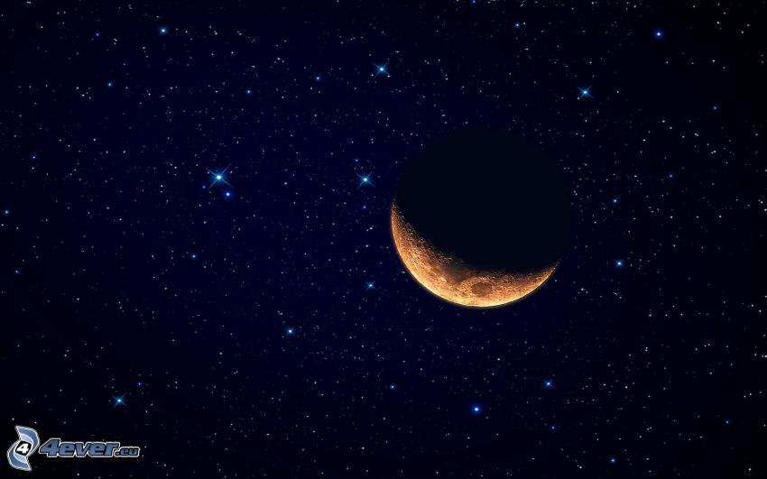 orange Monat, Sterne