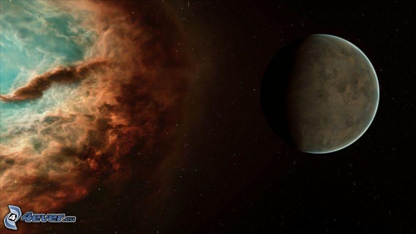 Planet, Nebelfleck