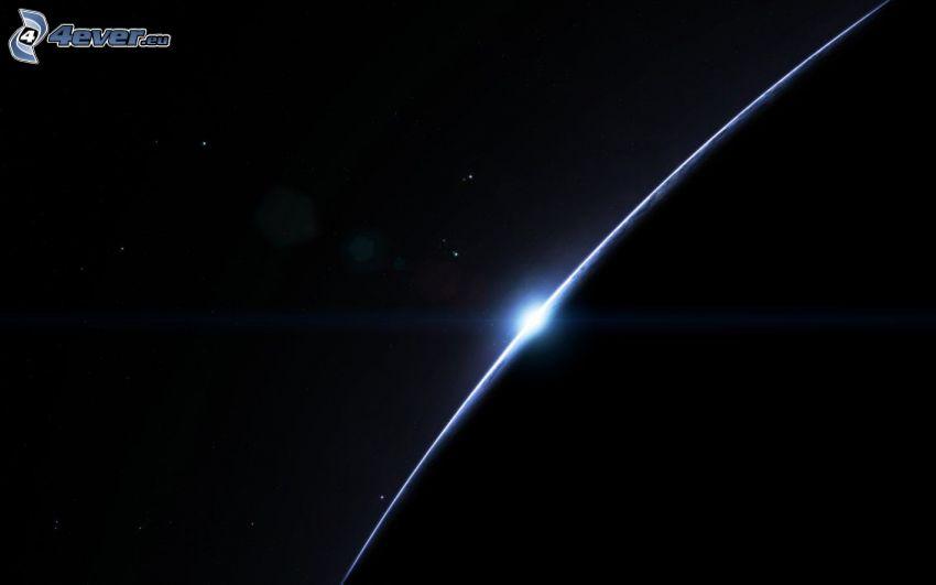 Planet, Sonne