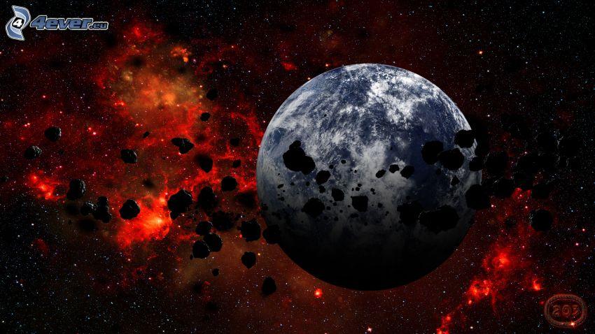 Planet Erde, Asteroiden