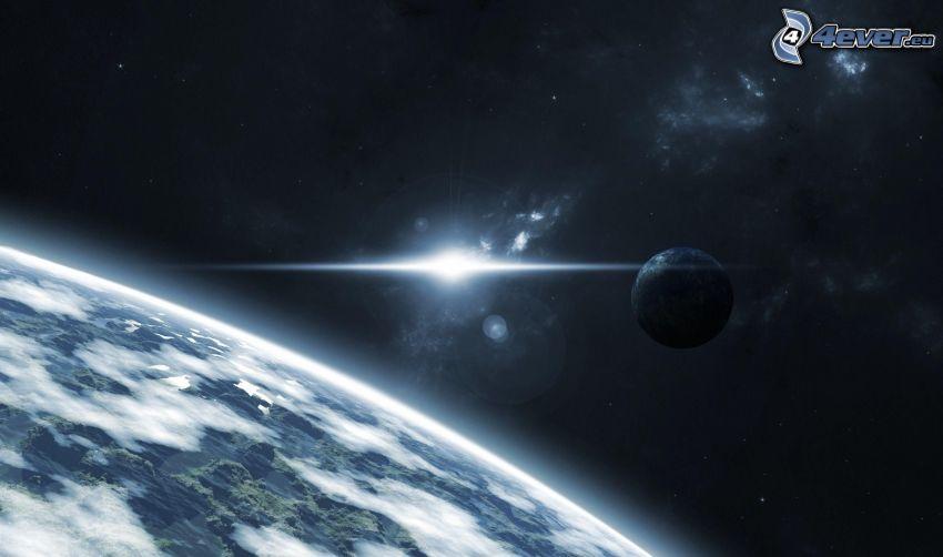 Planeten, Glut