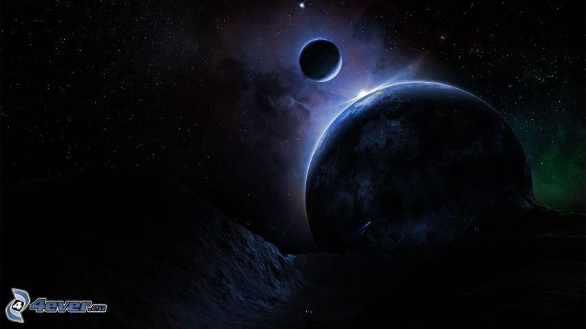 Planeten, Sterne