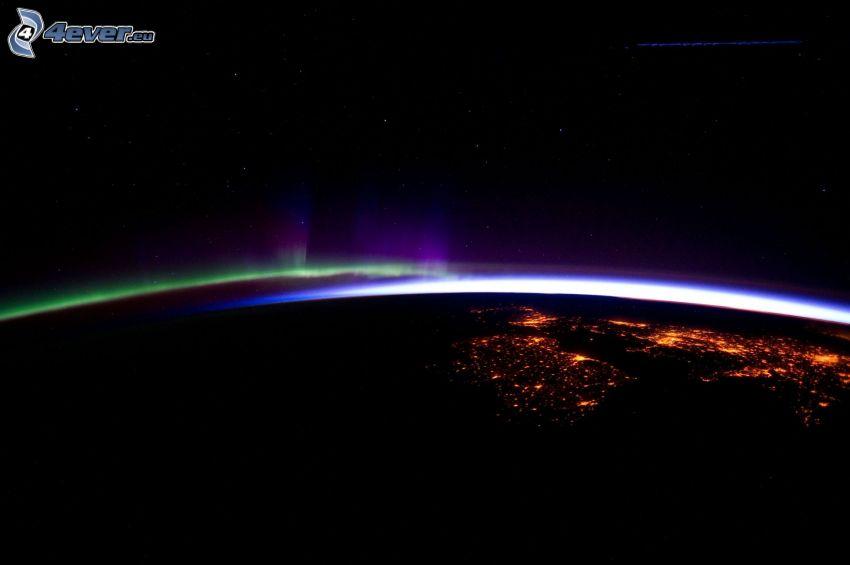 Polarlicht, Erde