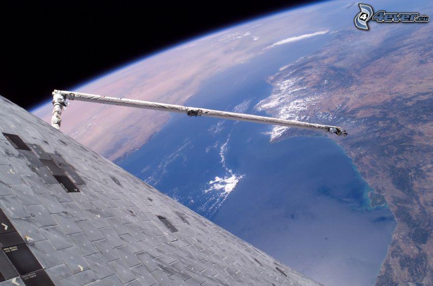 Satellit, Erde