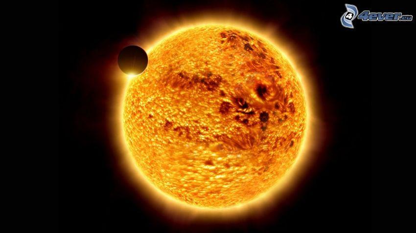 Sonne, Venus