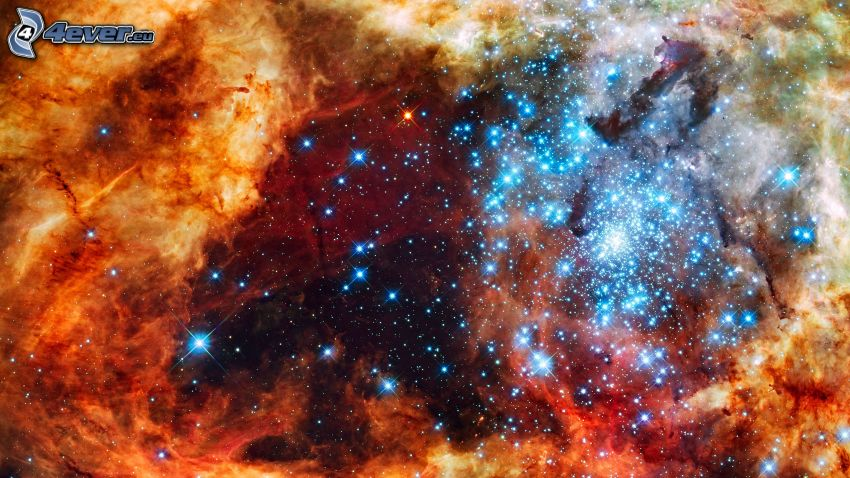 Sterne, Nebelfleck