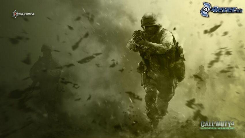 Call of Duty 4 - Modern Warfare, Soldat