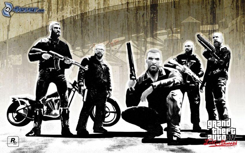 Grand Theft Auto IV: The Lost and Damned, Mann mit einem Gewehr