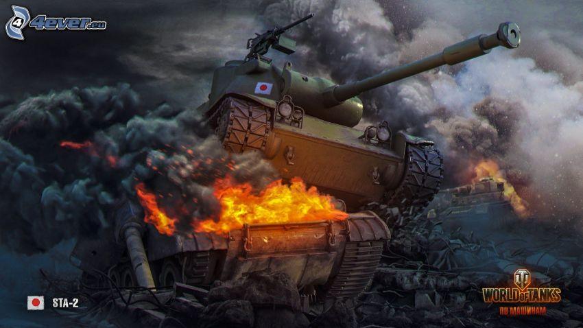 World of Tanks, Panzer, Kampf