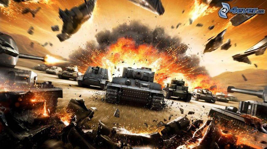 World of Tanks, Panzer, Tiger, Wehrmacht