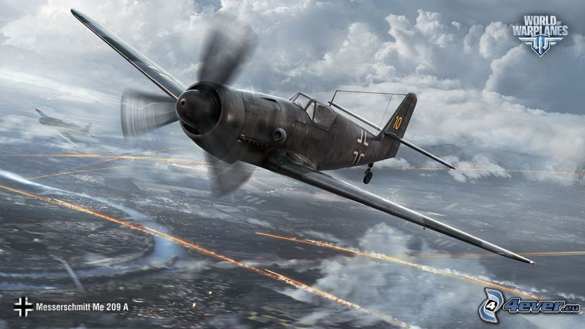 World of warplanes, Schießen