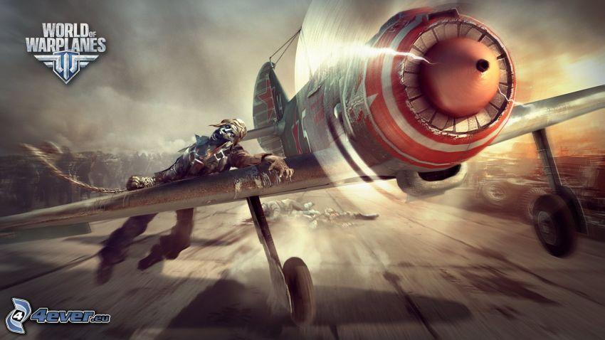 World of warplanes, zombie