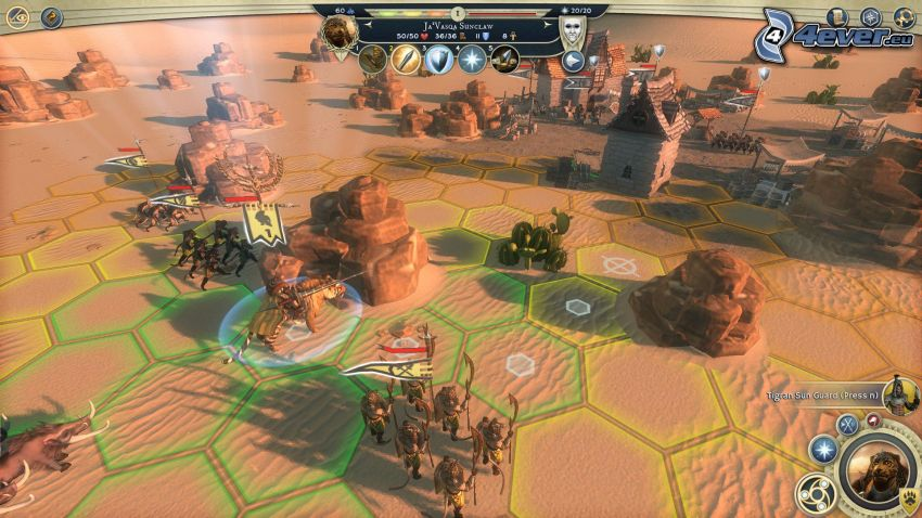 Age of Wonders, Sci-fi Landschaft