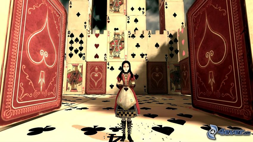 Alice: Madness Returns, Karten