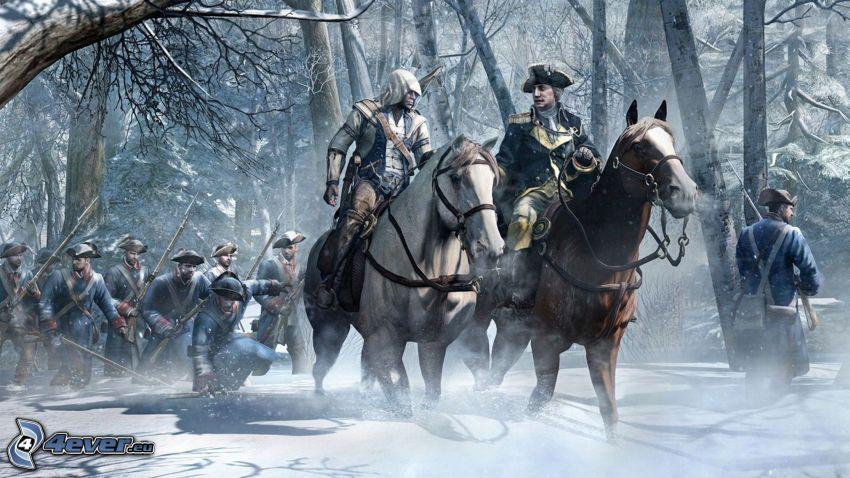 Assassin's Creed 3, Pferde