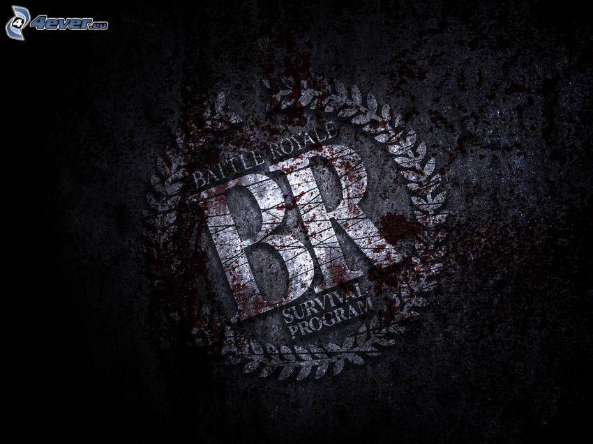 Battle Royale, logo