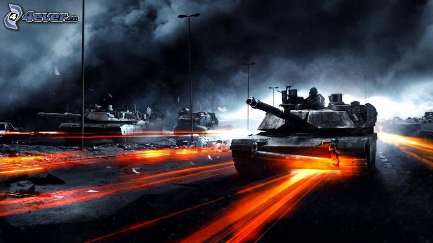 Battlefield 3, Panzer, M1 Abrams
