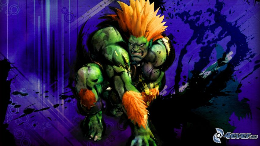 Blanka, Street fighter