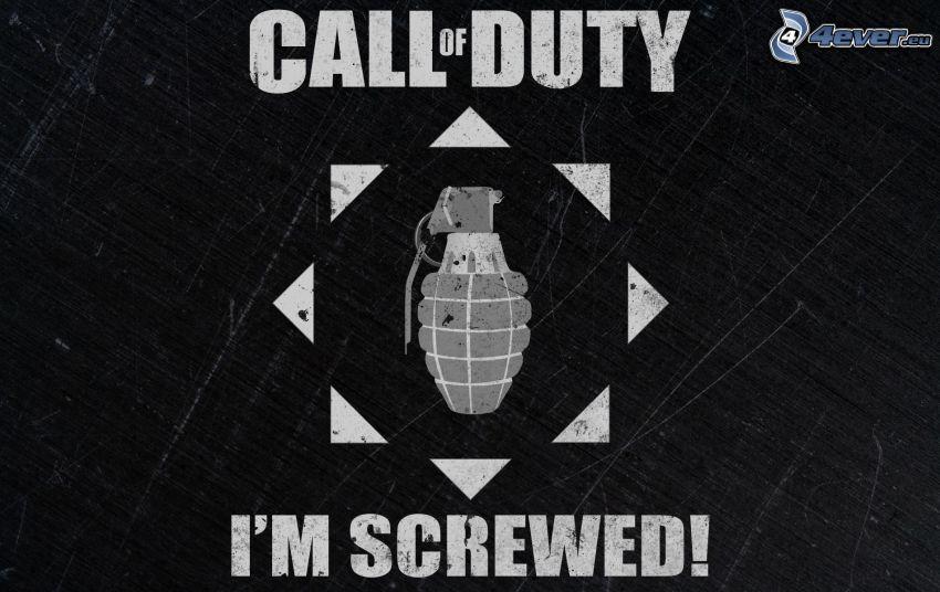 Call of Duty 4 - Modern Warfare, logo