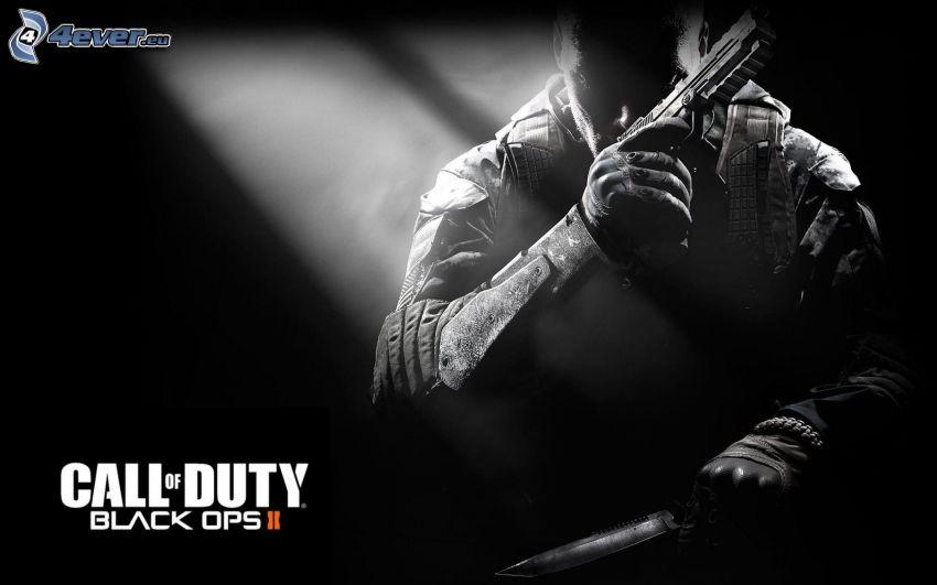 Call of Duty: Black Ops, Mann mit einem Gewehr