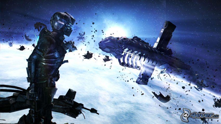 Dead Space 3, Raumschiff