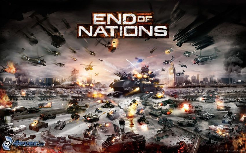 End of Nations, Krieg