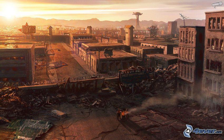 Fallout: New Vegas, City