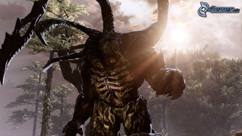 Gears of War 3, Monster