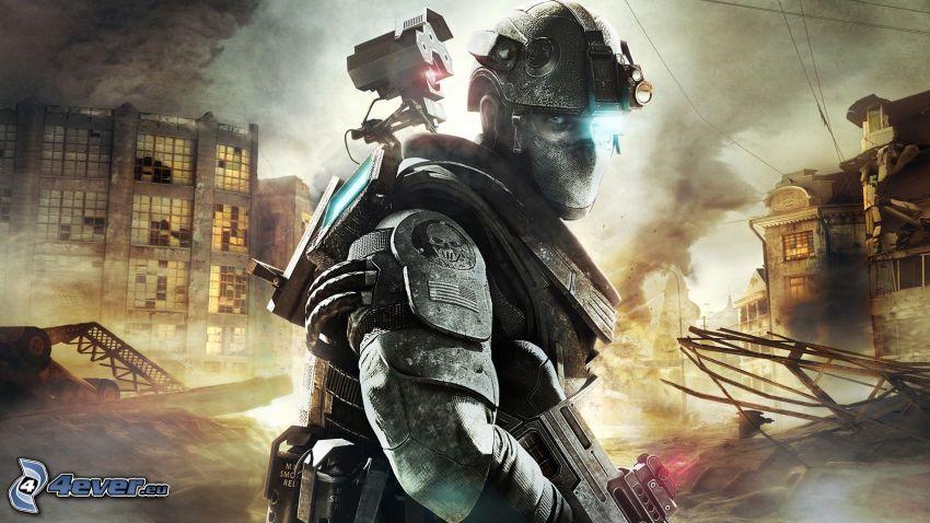 Ghost Recon: Future Soldier, Sci-Fi-Soldat