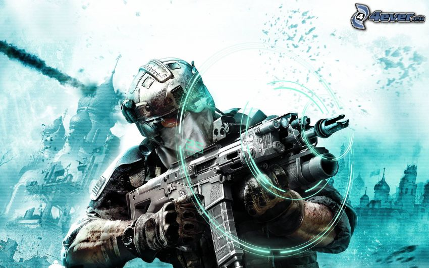Ghost Recon: Future Soldier, Sci-Fi-Soldat