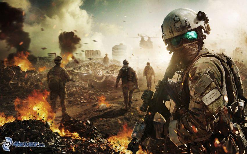 Ghost Recon: Future Soldier, Soldaten