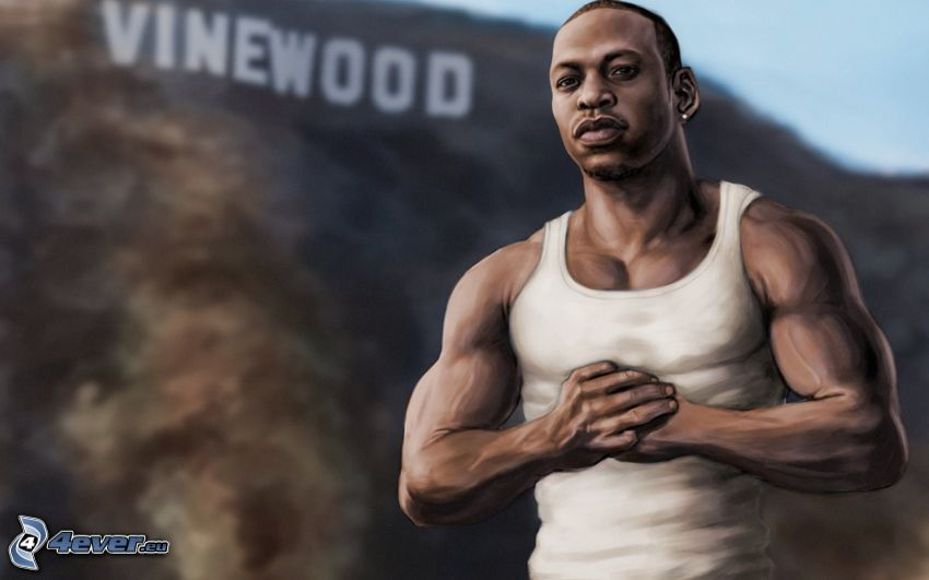 GTA San Andreas, Carl Johnson