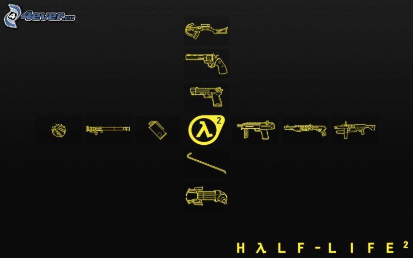 Half-Life 2, Waffen