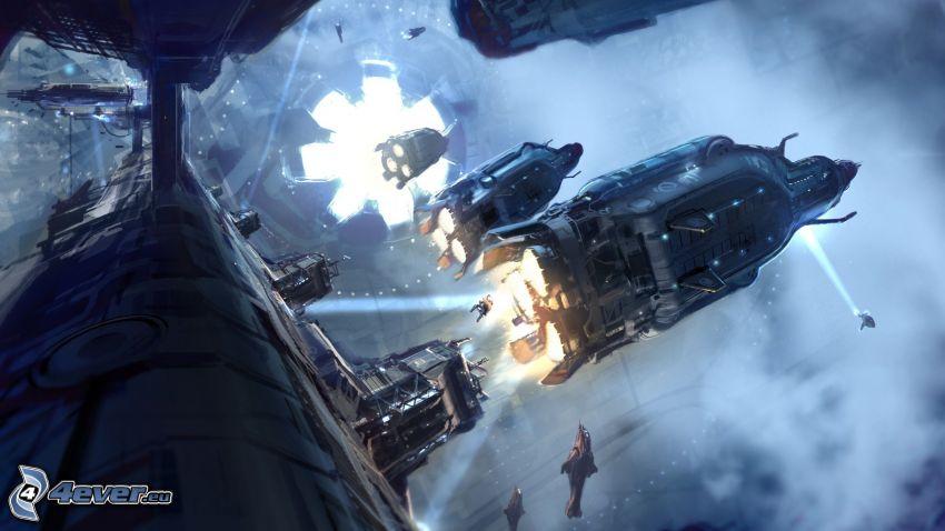 Halo 4, Raumschiff