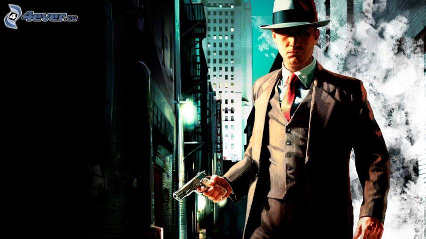 L.A. Noire, mann im Anzug