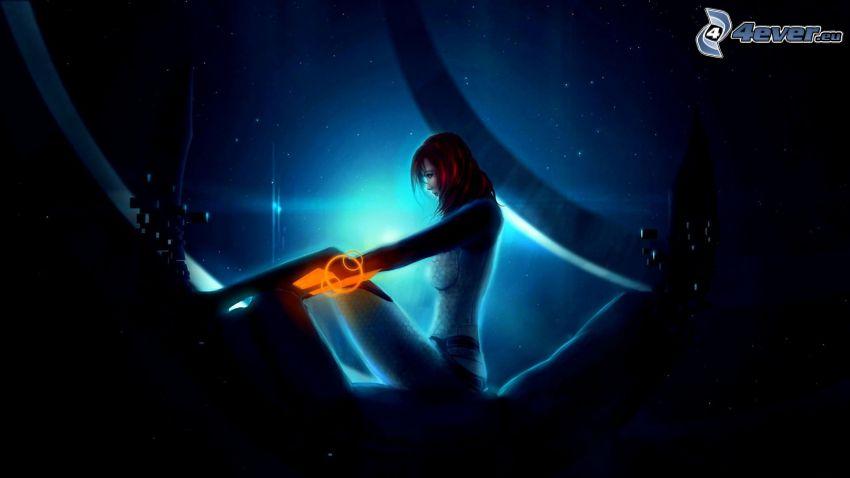 Mass Effect, Mädchen mit der Waffe