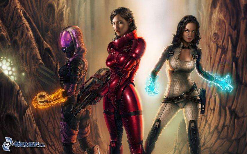 Mass Effect 3, Kämpferinen